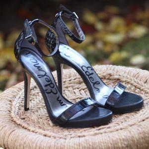 Sam Edelman Black Heels